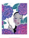 Oriental Florist Posters by Frank Mcintosh