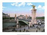 Vintage Paris Postcard - L'Arc de Triomphe de l'Etoile Posters
