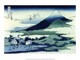 Umegawa in Sagami Province Prints by Katsushika Hokusai