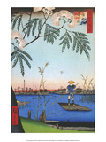Ayase River from One Hundred Famous Views of Edo Posters by Utagawa Hiroshige