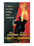 Vintage Movie Poster - The Lady from Shanghai Posters
