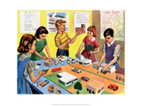 Vintage Classroom Poster -School Lesson Posters