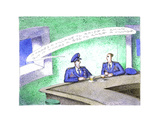 Military men at bar - Cartoon Premium Giclee Print by John O'brien