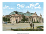 Vintage Paris Postcard - Le Grand Palais Prints