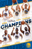 2015 NBA Finals- Champions Golden State Warriors Posters