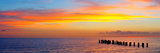 Sunset or Sunrise Landscape Panorama of Beautiful Nature Beach Photographic Print by  Fotomak