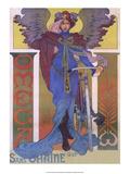 Vintage Poster Advertising Omega Prints