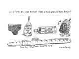 A List of what Other Customers Bought Based on Your Wish List -- Male Enha... - New Yorker Cartoon Premium Giclee Print by Michael Crawford
