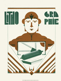 Art Deco Typography Prints