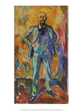 Professor Daniel Jackson, 1908 Prints by Edvard Munch