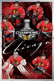2015 Stanley Cup- Champs Chicago Blackhawks Posters
