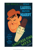 Vintage Movie Poster - Laurel & Hardy, Another Fine Mess Pósters