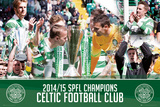 Celtic League Winners 14/15 Print
