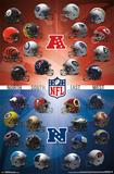 Nfl- Helmets 2015 Posters