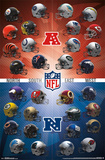 Nfl- Helmets 2015 Posters