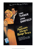 Vintage Movie Poster - The Postman Always Rings Twice Posters