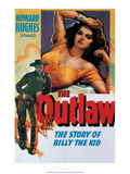 Vintage Movie Poster - The Outlaw Poster