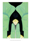 Lotus Goddess Hands Posters by Frank Mcintosh