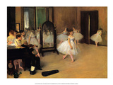 The Dance Class, 1871 Art by Edgar Degas