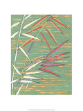 Japanese Textile Woodblock, Bamboo Steams Prints