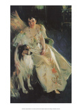 Mrs Virginia Purdy Bacon, 1897 Poster by Anders Leonard Zorn