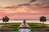 Charleston, South Carolina, USA at Waterfront Park. Photographic Print by  SeanPavonePhoto