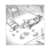 Capitol toys - Cartoon Premium Giclee Print by John O'brien