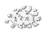 Puzzle - Cartoon Giclee Print by John O'brien
