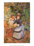 April in the Garden, 1885 Posters by Pierre-Auguste Renoir