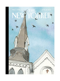 The New Yorker Cover - June 29, 2015 Regular Giclee Print by Barry Blitt