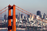San Francisco with the Golden Gate Bridge Photographic Print by  kropic