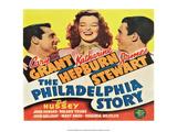 Vintage Movie Poster - The Philadelphia Story Prints