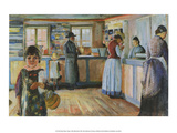 General Store in Vrengen, 1888 Poster by Edvard Munch