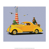 Studebaker Dictator, Vintage Car Advertising Prints