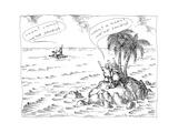 New Yorker Cartoon Premium Giclee Print by John O'brien