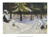 Winter, 1899 Print by Edvard Munch