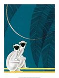 Monkeys Prints by Frank Mcintosh