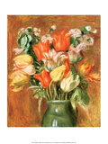 Bouquet of Tulips, 1905 Poster by Pierre-Auguste Renoir