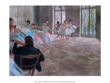 The Dance School, 1874 Posters by Edgar Degas