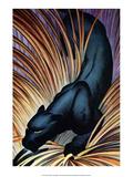 Black Panther Plakat af Frank Mcintosh