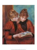 Two Sisters, 1889 Prints by Pierre-Auguste Renoir