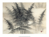 Japanese Forest of Bamboo Prints