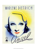 Vintage Movie Poster - Angel with Marlene Dietrich Art