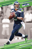Seattle Seahawks- Russell Wilson 2015 Posters