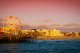 Santa Monica Pier Photographic Print by  CelsoDiniz