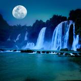 Waterfall Photographic Print by  GoodOlga