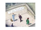 Dow Jonesing - Cartoon Premium Giclee Print by John O'brien