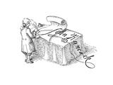 John Hancock - Cartoon Premium Giclee Print by John O'brien