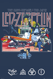 Led Zeppelin Remains Poster