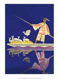 Birds and Boatman Posters by Frank Mcintosh